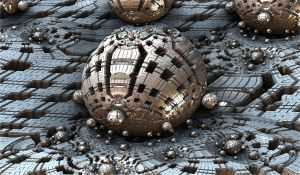 structured silver ball by Andrea1981G