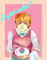 APH: Cupcake? by Crazed-In-Theory
