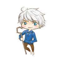 Jack Frost Chibi by Melody-in-the-Air