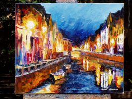 old painting 134 by Leonid Afremov by Leonidafremov