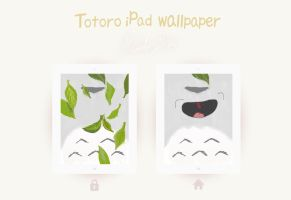 Totoro WALLPAPER [iPad] by alamdabalqhin