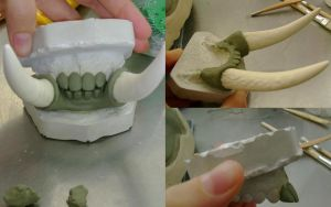 Troll Teeth and Tusks Sculpt by wynderkind