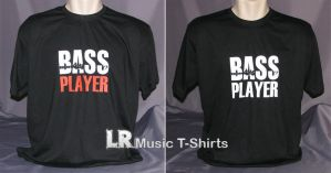 Bass Player T-shirts by dragaodepapel