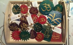 Science of Mind, OM, Meditation-themed ornaments by InspiredByYouArt