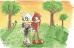 Knuxouge for Morrie-chan by VanillaREM