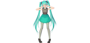 [MMD] TDA Miku Dress + DL by ElPoderVocaloid