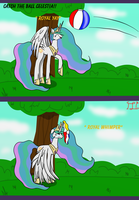 No playtime for Celestia by Lucandreus