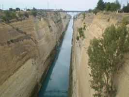 Corinth Canal by Midnight-Eye