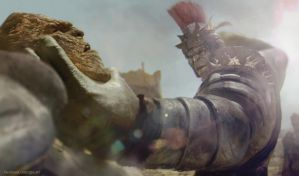 Hulk Vs Korg by vshen