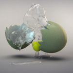 Breaking Egg Simulation Scene Files by jodroboxes