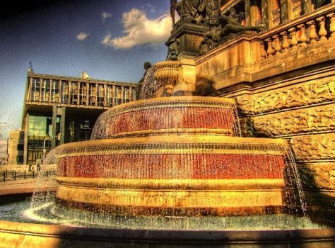Ancient fountain by krouto