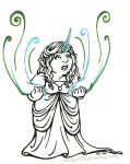 Faerie Support by rachelillustrates