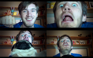 pewdiefaces 2 by PewDieFan