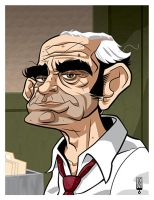 Abe Vigoda by LawrenceChristmas