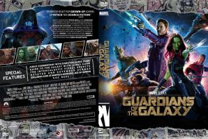 Guardians Of The Galaxy DVD by MrPacinoHead