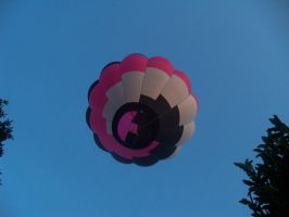 Under the Hot Air Balloon by lilyzoe07