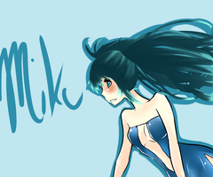 BLUE by milkie-nommi