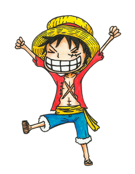 Luffy by MeLlamanHi