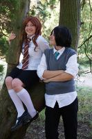 Severus and Lily - Best Friend by lunaecIipse