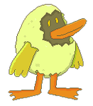 A Duck by Guilll