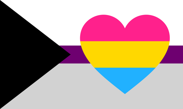 Demisexual Panromantic Combo Flag by Pride-Flags