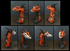 Dragon Bust: Red and Dead by drakhenliche
