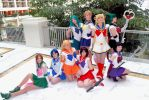 Sailor Moon Group 02 by cloudsofsand