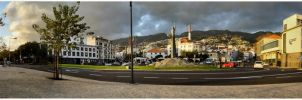Panorama of Funchal by Xavier-3d