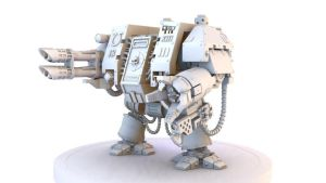 Space Marine Dreadnought by crobbie