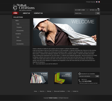Yes Bali Creation Website by chykalophia