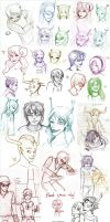 All of the sketches by Elistanel