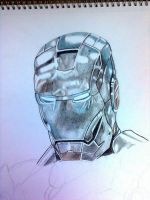 Iron Man mark II WIP by Galbatore