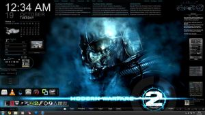 Modern Warfare 2 Desktop by x-ReMuSik-x