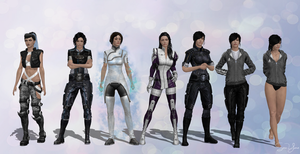 Lorayne Outfits Set 1 by SonYume