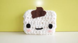 Hand Crochet - Poopy Clutch by gippentarp