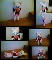 Rouge The Bat Plush Toy by Coolbagpipes