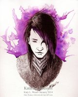 Ashley Purdy Watercolor by Katara-Alchemist