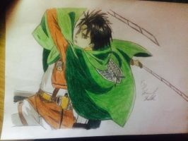 Levi Ackerman by captonstu