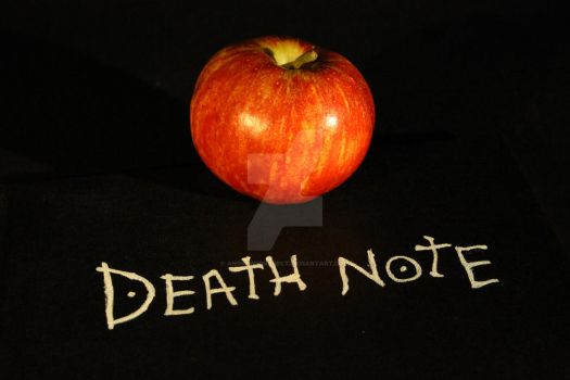 Death Note - Apple by AndrewsProject