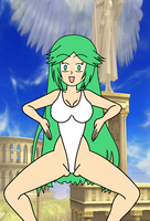 Lady Palutena Haigure by laprasking