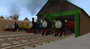 The Arlesdale Engines by lbbrian
