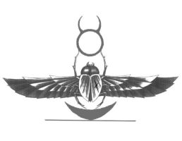Scarab Tattoo by Featherthorn