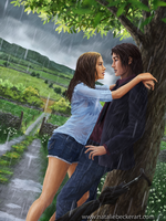 Caught in the Rain by Natalie-Becker