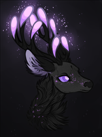 Swiggity Swag the Sparkling Stag by SnakeFeathers