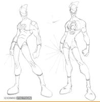 Green Lantern Redesign by ComicFiction
