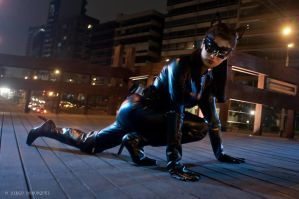 Catwoman - Batman The Dark Knight Rises Cosplay by umicosplays