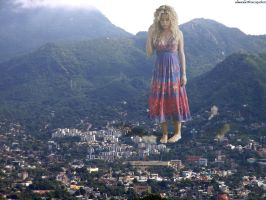 Shakira in Alcapulco by Accasbel