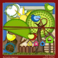 Birdie Woodie Scrap Kit by MizzKitten21