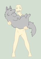 Base - Me And My Wolf Pet by Shadow-Bases