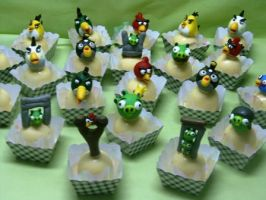 Angry birds truffles by anafuji